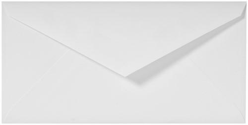 Envelop Lalo bank C6 gevergeerd wit-2
