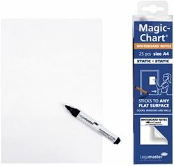 Magic-chart notes Legamaster whiteboard 20x30 cm wit