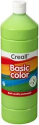 Plakkaatverf Creall basic 14 lichtgroen 1000 ml