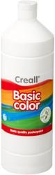 Plakkaatverf Creall basic 21 wit 1000 ml
