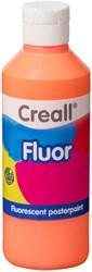Plakkaatverf Creall fluor 03 oranje 250 ml