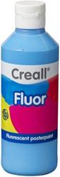 Plakkaatverf Creall fluor 07 blauw 250 ml