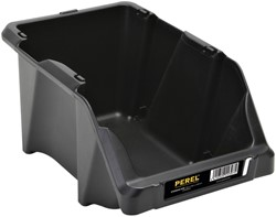 Magazijnbak Perel 152x245x122mm zwart