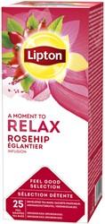Thee Lipton Relax Rozenbottel 25stuks