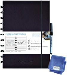 Notitieboek Correctbook A4 lijn 40blz ink black