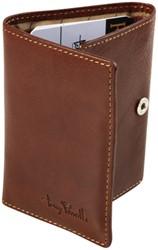 Portemonnee Tony Perotti Furbo Pure RFID leer bruin