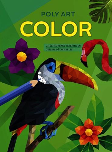 Kleurboek Deltas Poly Art Color