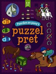 Puzzelpret Deltas Paarden en Pony's 6-8 jaar