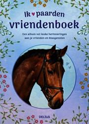 Vriendenboek Deltas Ik hou van paarden