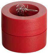Papercliphouder MAUL Pro Ø73mmx60mm rood