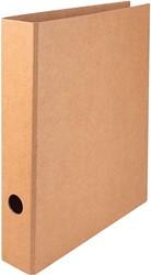 Ordner Quantore A4 50mm kraft bruin