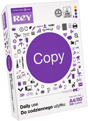 Kopieerpapier Rey Copy A4 80gr wit 500vel