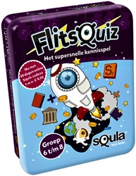 Kaartspel Squla Flitsquiz Groep 6/7/8