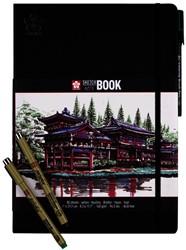 Schets-notitieboek Sakura A4 wit