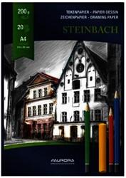 Tekenblok Aurora A4 20v 200gr Steinbach papier