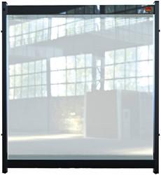 Bureauscherm Nobo Modulair doorzichtig PVC 750x820mm