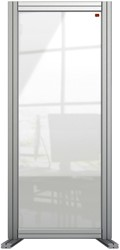 Bureauscherm Nobo Modulair transparant acryl 400x1000mm