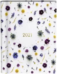 Agenda 2021 wire-o flowers white