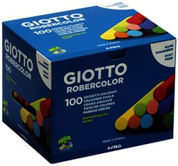 Schoolbordkrijt Giotto ass doos à 100 stuks