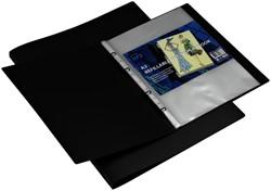 Showmap HF2 deluxe A2 navulbaar 10 tas zwart