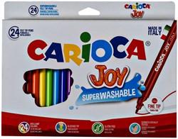 Viltstiften Carioca Joy set à 24 kleuren