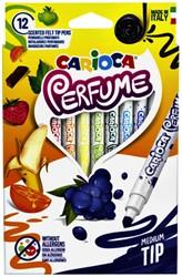 Viltstiften Carioca Parfum set à 12 kleuren