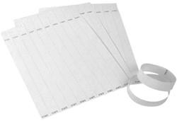 Tekststempel Colop E-Mark polsbandjes 19mm x 250mm 100st