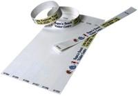 Tekststempel Colop E-Mark polsbandjes 19mm x 250mm 100st-2