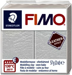 Klei Fimo leather-effect 57 g ivoor