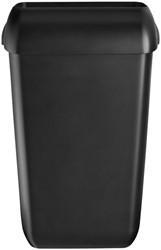 Afvalbak Euro kunststof 23 liter zwart