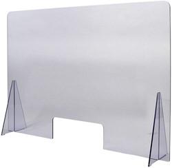 Baliescherm Quantore 100x70cm transparant