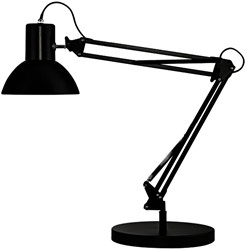 Bureaulamp Unilux Success 66 LED lamp zwart