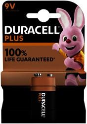 Batterij Duracell Plus 1x9Volt