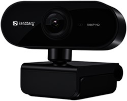 Webcam Sandberg USB FLEX 133-97 zwart
