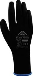 Handschoen ActiveGear grip PU-flex zwart large