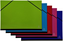 Tekenmap Exacompta Iderama 32x45cm met elastiek assorti