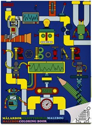 Kleurboek Haza Sense Robot