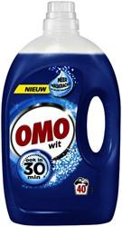 Wasmiddel Omo Wit vloeibaar 40scoops 2ltr