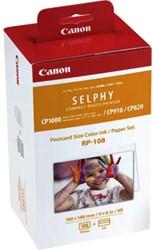 Fotopapier Canon RP-108 10x15cm + inktcartridge 108vel