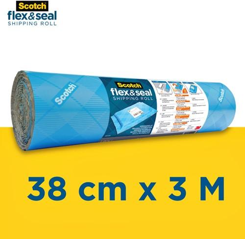 Verpakkingsrol Scotch Flex & Seal 38cmx3m-1