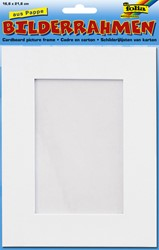 Fotoframe Folia karton 166x216mm wit