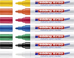 Lakmarker edding e-8750 industry wit
