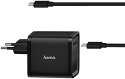 Universele USB-C-notebook-netadapter Hama