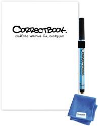 Notitieboek Correctbook uitwisbaar en herbruikbaar A5 scratch blanco wit