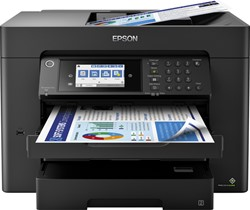 Inkjetmultifunctional Epson Workforce WF-7840DTWF zwart
