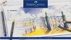 Kleurpotloden Faber Castell Goldfaber set à 36 stuks assorti