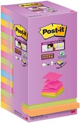 Memoblok Post-it R330  Z-notes 76x76mm 16 color