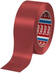 Vloermarkeringstape Tesa 04169 50mmx30m rood