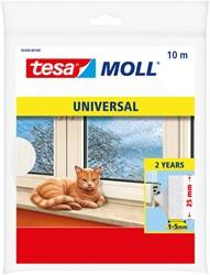 Tochtstrip Tesa Moll 05456 universeel 25mmx10m wit