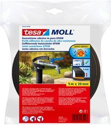 Buisisolatie Tesa Moll 05443 20mmx5m zwart